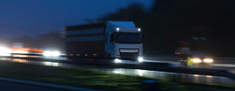 Truck Accidents Pennsylvania | Night Driving